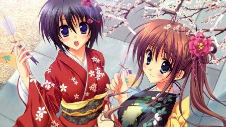 anime, girls, surprisingly