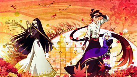 anime, kimonos, arms