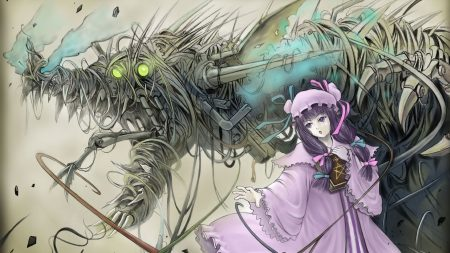 anime, magic, girl