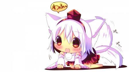 animeshka, touhou girl, cat
