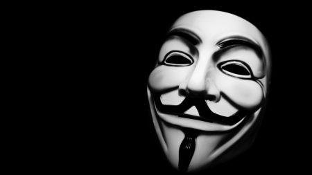 anonymus, mask, black