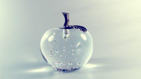 apple, glass, metal
