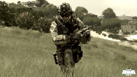 arma 3, soldier, automatic