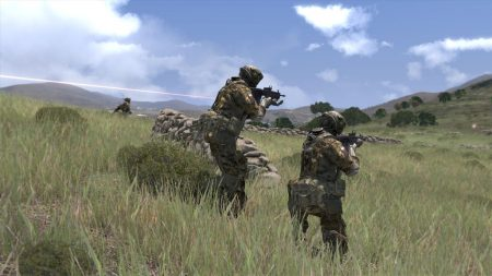 arma 3, soldiers, stones