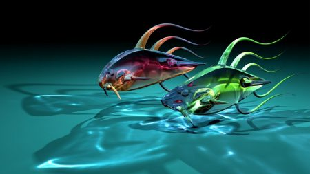 art, fish, goldfish