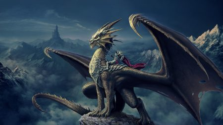 art, nick deligaris, dragon