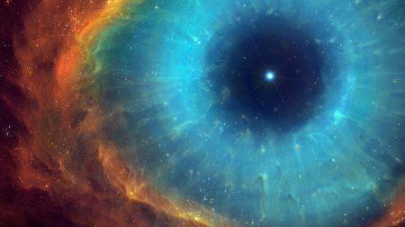 art, space, nebula