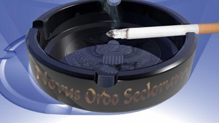 ashtray, cigarette, smoke