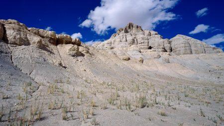 asia, mountains, sandy
