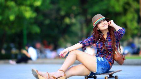 asian, style, skate