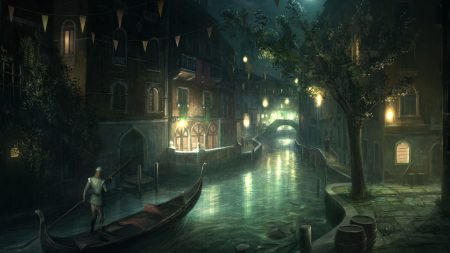 assassins creed, city, venice