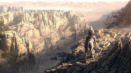 assassins creed, desmond miles, canyon