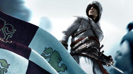 assassins creed, desmond miles, flag