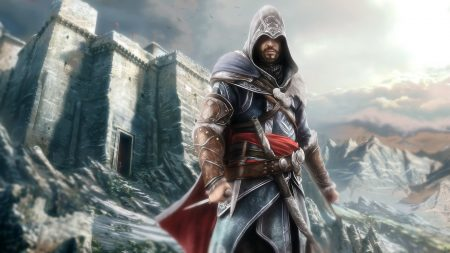 assassins creed, desmond miles, mountains