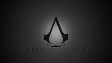 assassins creed, emblem, quote