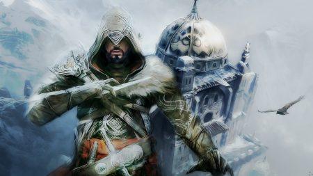assassins creed, fur, house
