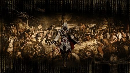 assassins creed, graphics, background