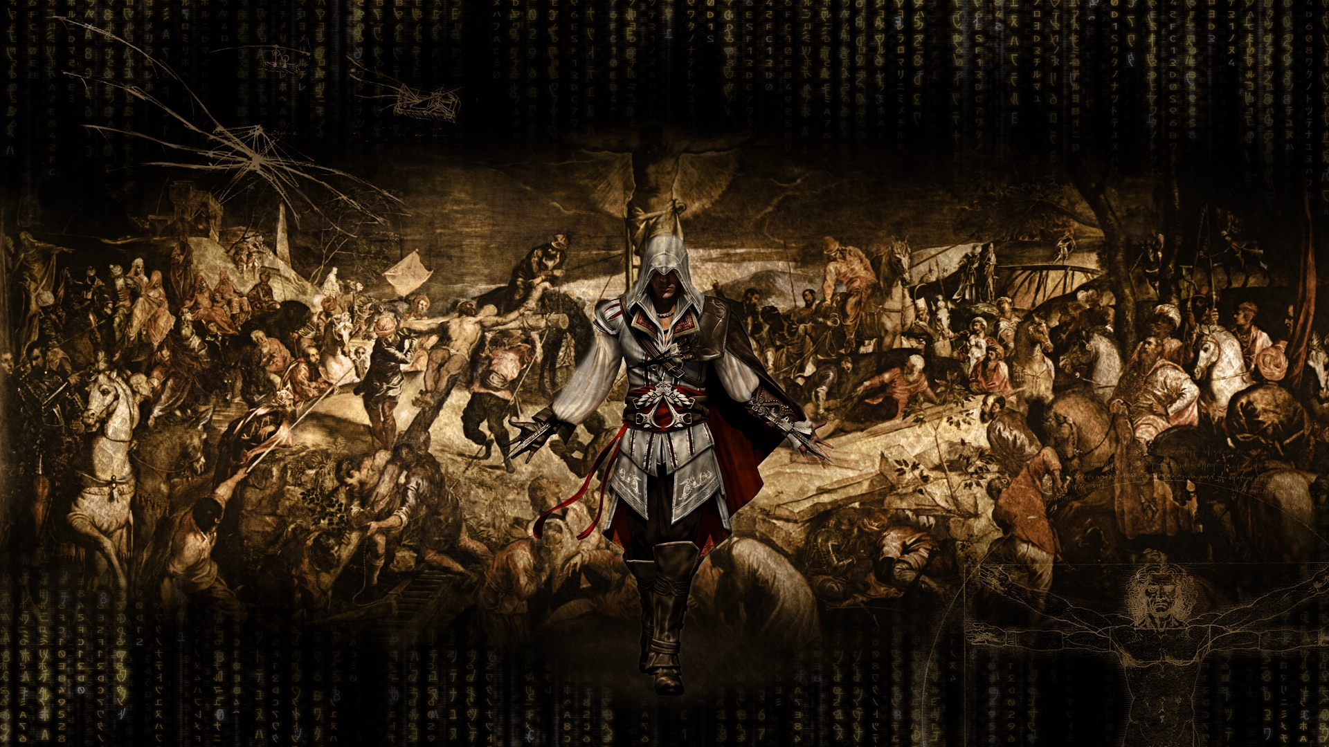 Download Wallpaper 1920x1080 Assassins Creed Graphics Background