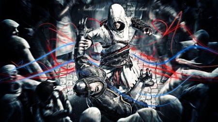 assassins creed, guard, attack