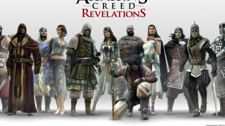 assassins creed revelations, characters, faces