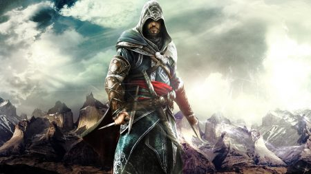 assassins creed revelations, desmond miles, hood