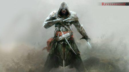 assassins creed revelations, desmond miles, knifes