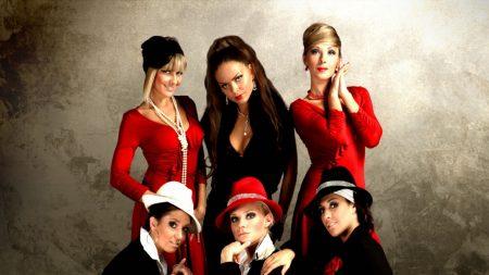 assortie, girls, suits
