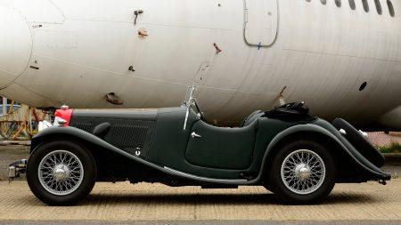 aston martin, 1937, green