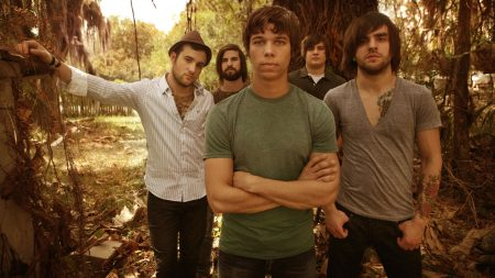 august burns red, forest, plants