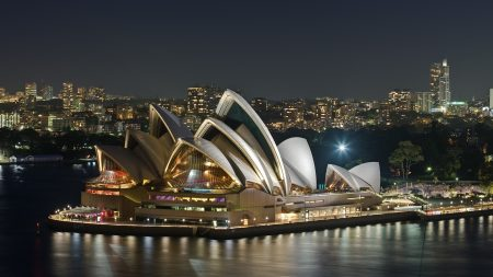 australia, evening, opera