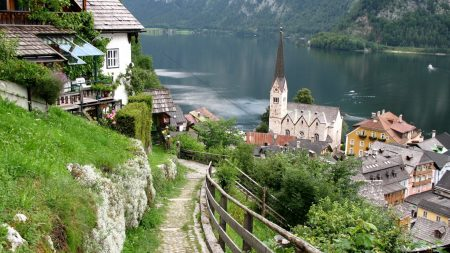 austria, lake, home
