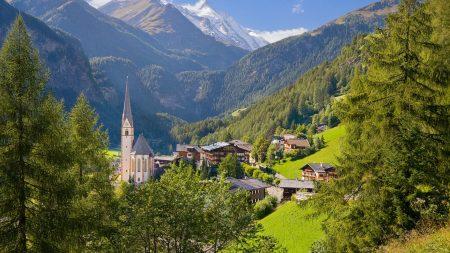 austria, summer, village