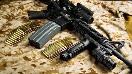 automatic, guns, bullets
