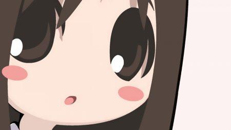 azumanga daioh, girl, brunette