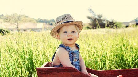 baby, hat, boy
