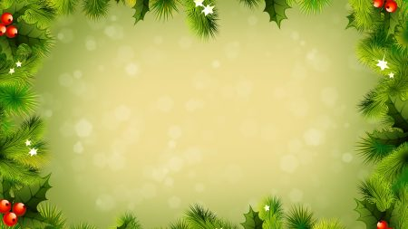 background, new year, branches