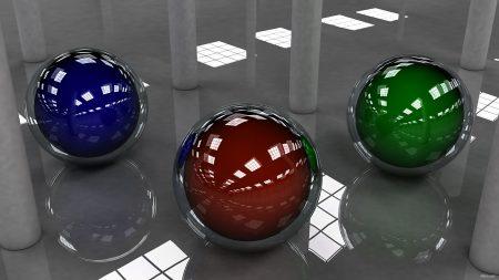 ball, colored, shape