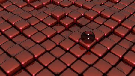 ball, cubes, set