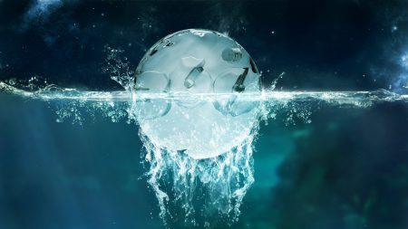 ball, liquid, background