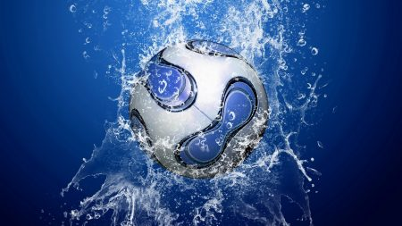 ball, water, splashes