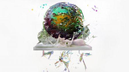 ball, wax, light