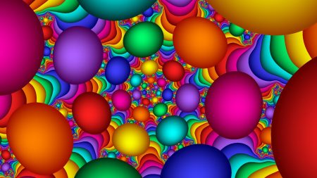 balloons, colorful, background