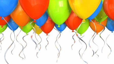 balloons, helium, gas