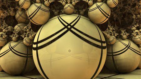 balls, form, glass