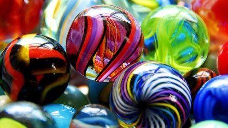 balls, glass, line