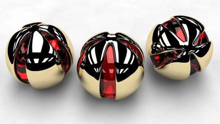 balls, metal, shape
