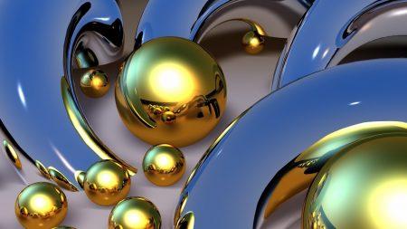 balls, patterns, metal