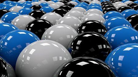 balls, rows, white