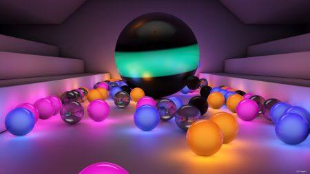 balls, size, background