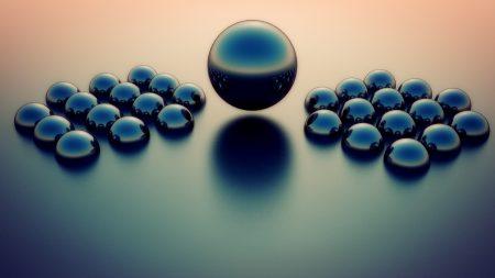 balls, size, dark